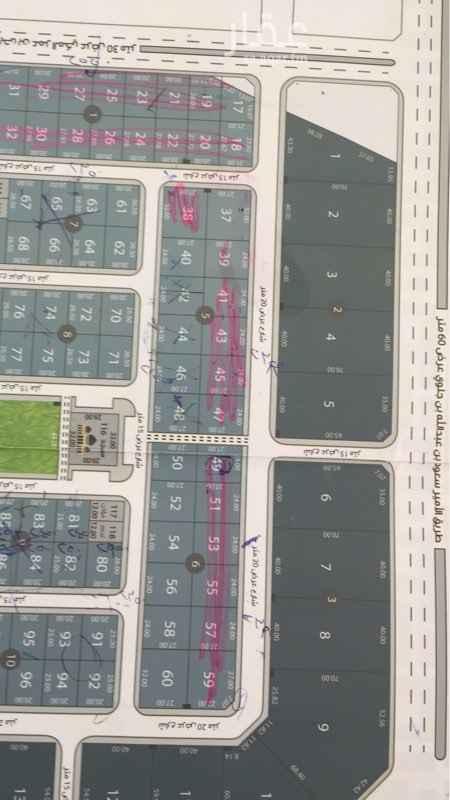 أرض للبيع في طريق الأمير محمد بن سعد بن عبدالعزيز ، حي القيروان ، الرياض