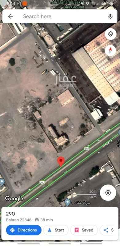 أرض للبيع في حي بحرة ، جدة ، بحرة