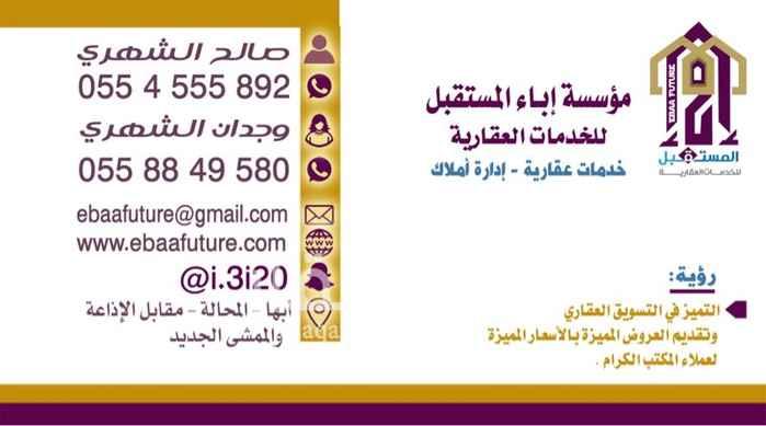 فيلا للبيع في شارع ابو بكر الصديق ، حي شباعة ، خميس مشيط ، خميس مشيط