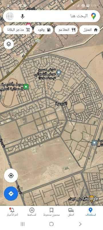 أرض للبيع في شارع عين دار الجديده ، حي الفروسية ، جدة ، جدة