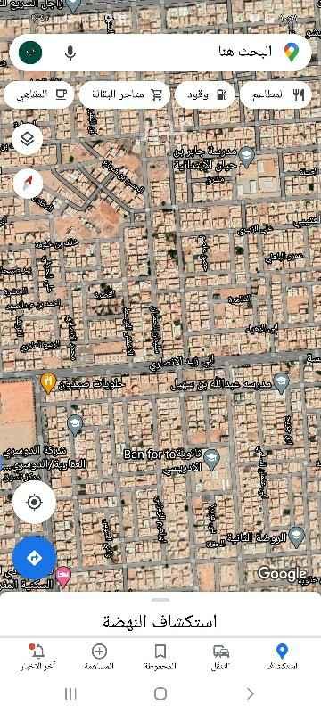 أرض للبيع في شارع وادي الزرقاء ، حي النهضة ، الرياض ، الرياض