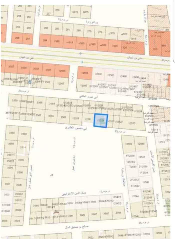 أرض للبيع في شارع سفيان بن الحكم ، حي العوالي ، الرياض ، الرياض