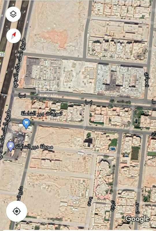 أرض للبيع في شارع وثيلان ، حي حطين ، الرياض ، الرياض