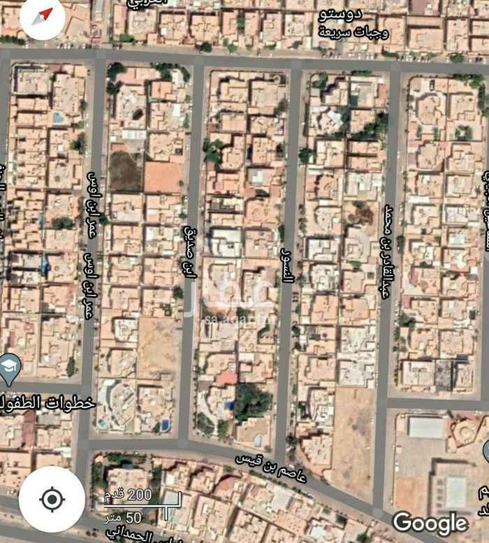 أرض للبيع في شارع آل مقبل ، حي الرائد ، الرياض ، الرياض