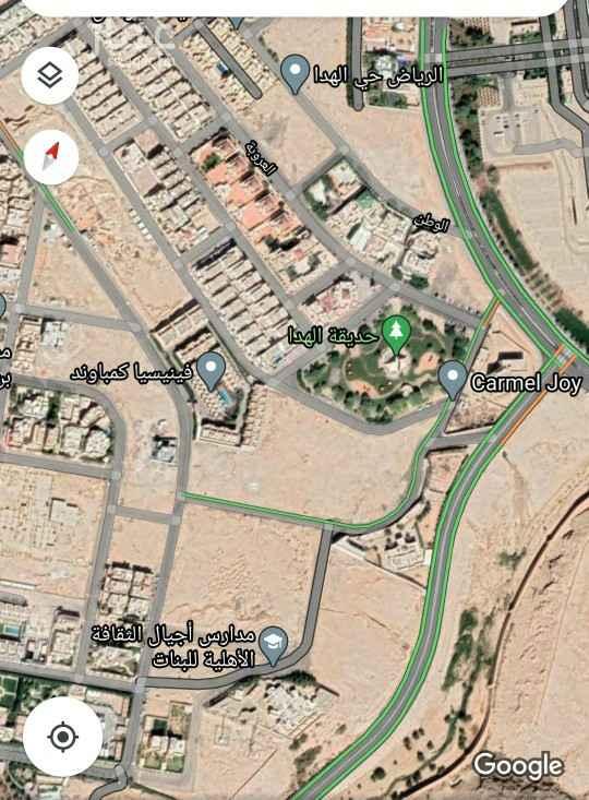 أرض للبيع في حي الهدا ، الرياض ، الرياض