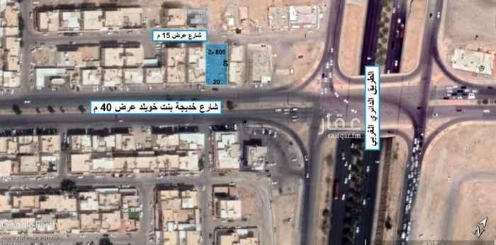 أرض للإيجار في شارع خديجة بنت خويلد ، حي العريجاء الغربية ، الرياض ، الرياض