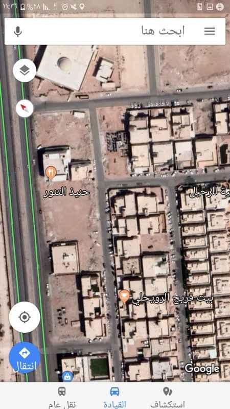 أرض للبيع في شارع الشيخ خليفة بن حمد ال ثاني ، حي الجنادرية ، الرياض