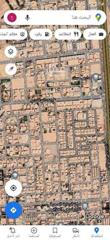 أرض للبيع في شارع ابي زكريا ، حي الخزامى ، الرياض ، الرياض
