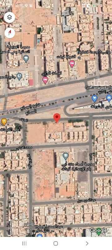 أرض للبيع في شارع المصانع ، حي الحمراء ، الرياض ، الرياض