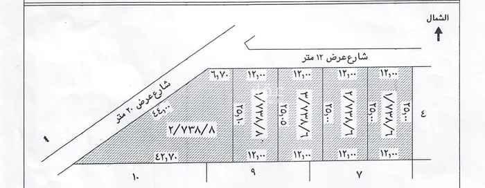 أرض للبيع في شارع الليمون ، حي العزيزية ، الرياض ، الرياض
