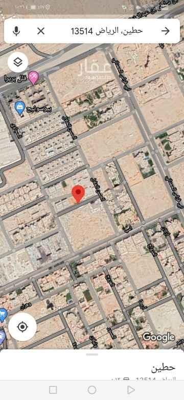أرض للبيع في شارع الحجاوي ، حي حطين ، الرياض ، الرياض