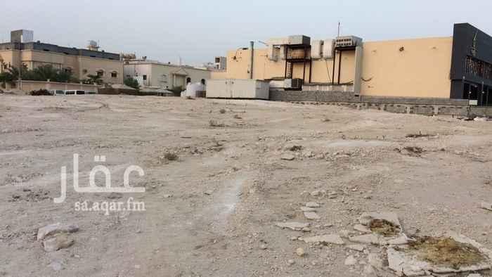 أرض للبيع في شارع أبو العلاء الصاعدي ، حي المنار ، الدمام