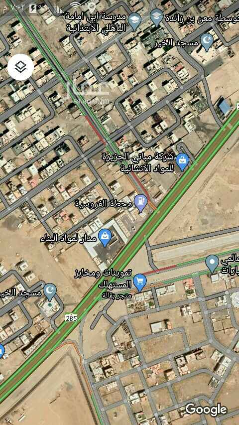 أرض للإيجار في شارع أحمد مكي بن عثمان العطار ، حي الرياض ، جدة ، جدة