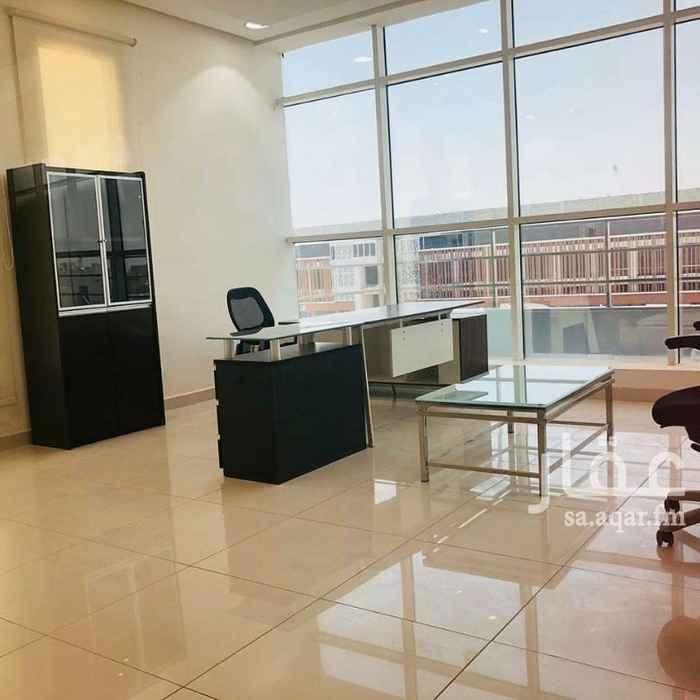 مكتب تجاري للإيجار في طريق أنس ابن مالك ، حي الملقا ، الرياض