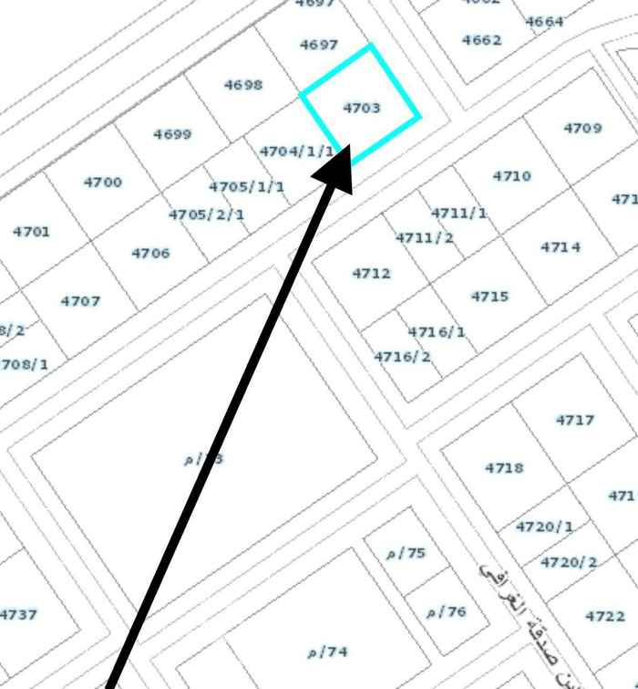 أرض للبيع في شارع أحمد بن هاشم ، حي المهدية ، الرياض ، الرياض