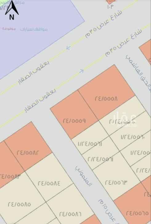 أرض للبيع في شارع يعقوب الصفار ، حي المهدية ، الرياض ، الرياض