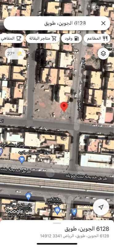 أرض للبيع في شارع الجوين ، حي طويق ، الرياض ، الرياض