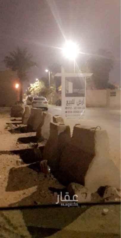 أرض للبيع في شارع هشام العدوي ، حي الروضة ، جدة