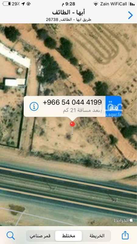 أرض للبيع في حي ، طريق الجنوب الباحة ، حي ج36 ، الطائف ، الطائف