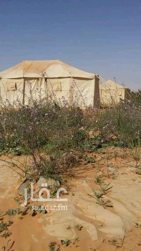 مخيم للإيجار في طريق روضة خريم