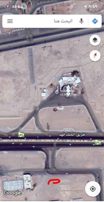 أرض للإيجار في طريق الملك فهد ، تبوك