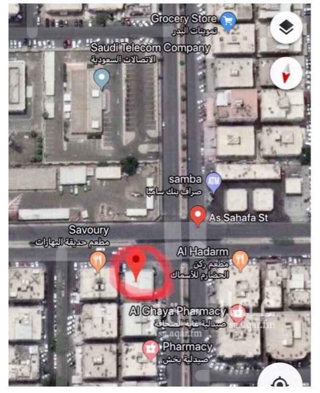أرض للبيع في شارع غرناطة ، حي العزيزية ، جدة