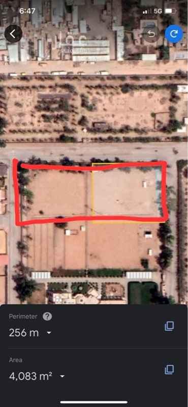 أرض للبيع في شارع العقيق ، حي الرمال ، الرياض ، الرياض