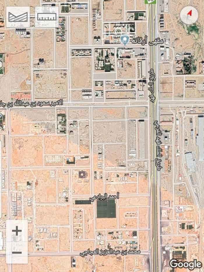 أرض للبيع في شارع الامير سعود بن عبدالله بن جلوي ، الرياض