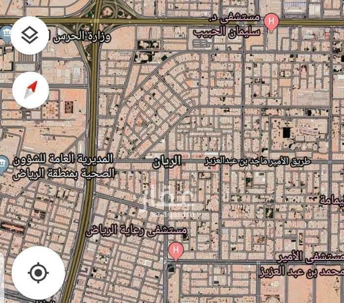أرض للبيع في حي الريان ، الرياض