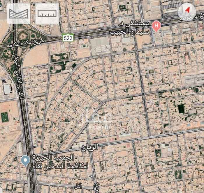 أرض للبيع في شارع الأمير عبدالمجيد بن عبدالعزيز ، حي الريان ، الرياض ، الرياض