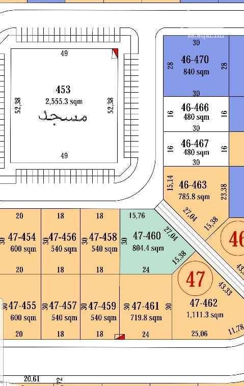 أرض للبيع في شارع 196 ، الرياض ، الرياض