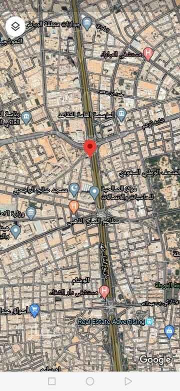 أرض للبيع في طريق الملك فهد الفرعي ، حي الوشام ، الرياض ، الرياض