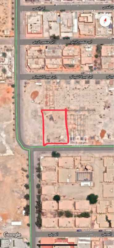 أرض للبيع في شارع احمد البلخي ، حي الربوة ، الرياض