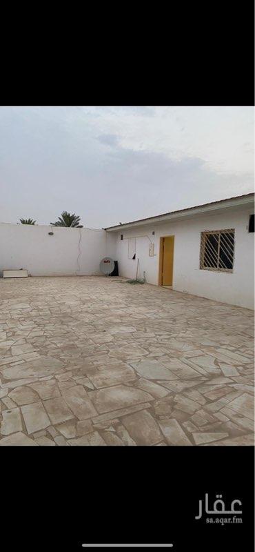 استراحة للإيجار في شارع هشام بن سليمان ، حي الرمال ، الرياض