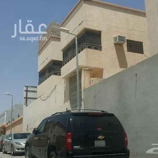 عمارة للبيع في شارع ابي المحاسن السلمي ، حي المرسلات ، الرياض