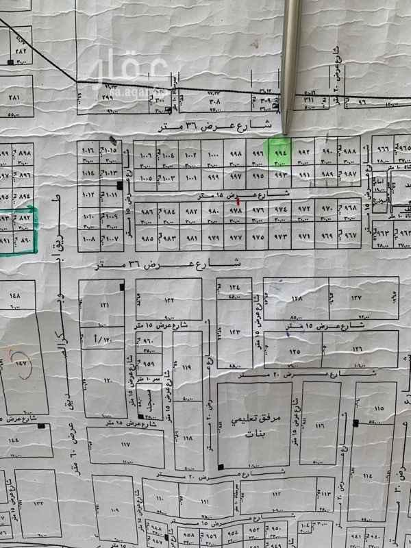 أرض للإيجار في شارع طارق بن شهاب ، حي النرجس ، الرياض ، الرياض