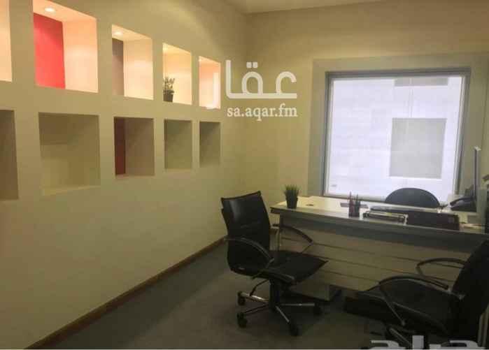 مكتب تجاري للإيجار في أبراج آل طاهر ، شارع سعود الفيصل ، حي الروضة ، جدة