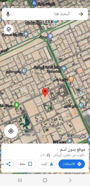 أرض للبيع في شارع الفضل بن عياض ، حي العقيق ، الرياض ، الرياض