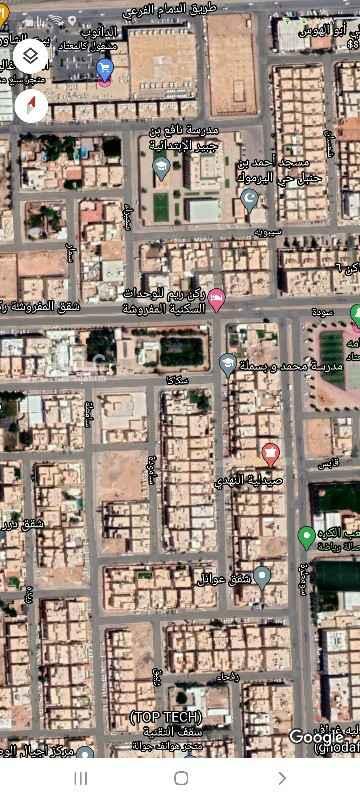 أرض للبيع في شارع سيبويه ، حي اليرموك ، الرياض ، الرياض