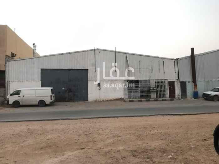 مستودع للإيجار في شارع 7757-7888 الاعتدال, بدر, الرياض