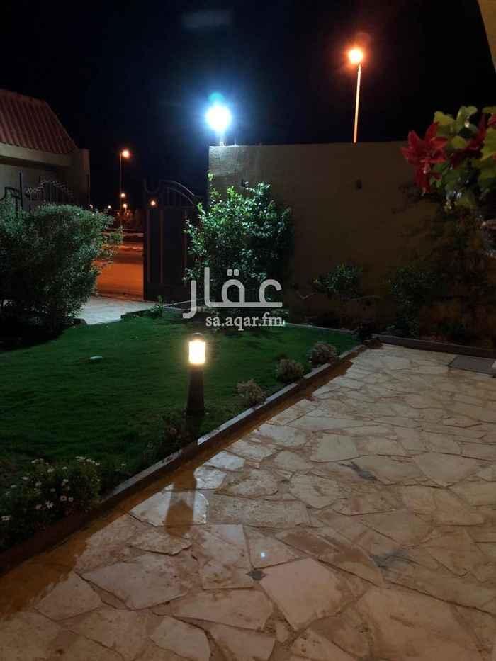 استراحة للبيع في شارع عبدالله بن سيف ، حي العقيق ، الرياض