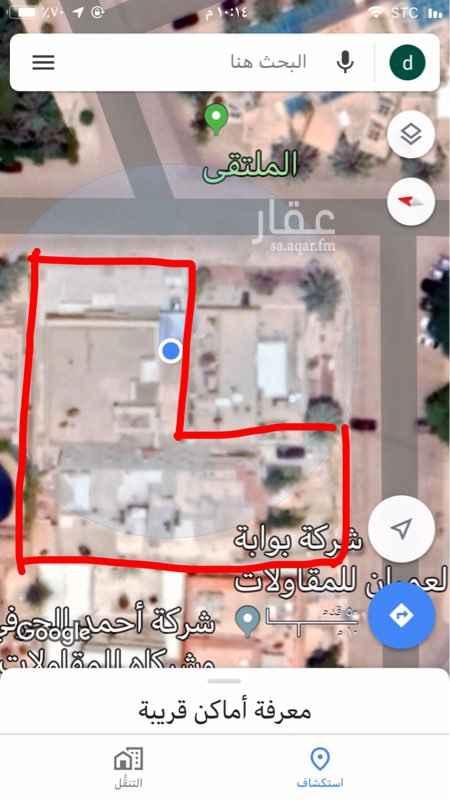 أرض للبيع في شارع اسيد بن ثعلبة ، حي الربوة ، الرياض