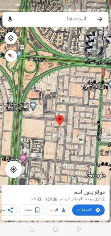 أرض للبيع في شارع ابن مظفر ، حي الازدهار ، الرياض ، الرياض