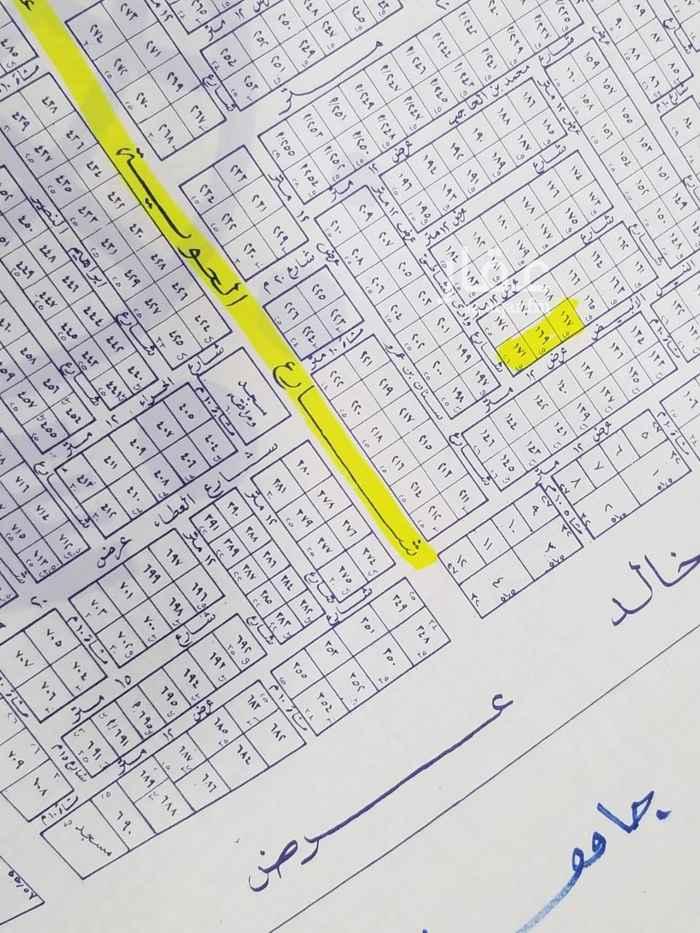 أرض للبيع في شارع علي عبدالله القضاعي ، حي الخزامى ، الرياض