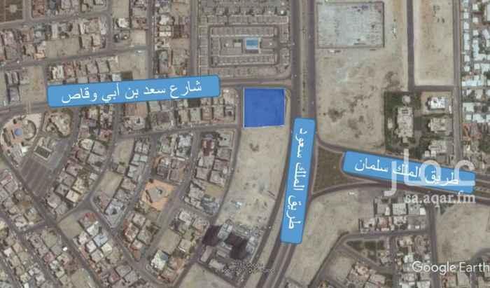 أرض للبيع في شارع سعد بن أبي وقاص ، حي الدوحة الجنوبية ، الظهران