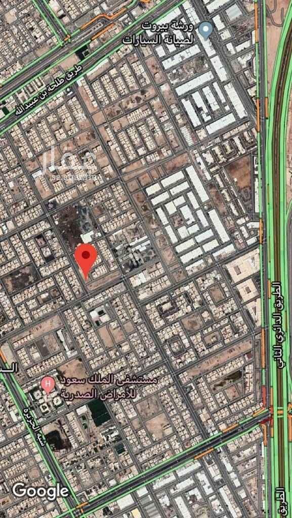 أرض للبيع في شارع علي ال الثاني ، حي السعادة ، الرياض