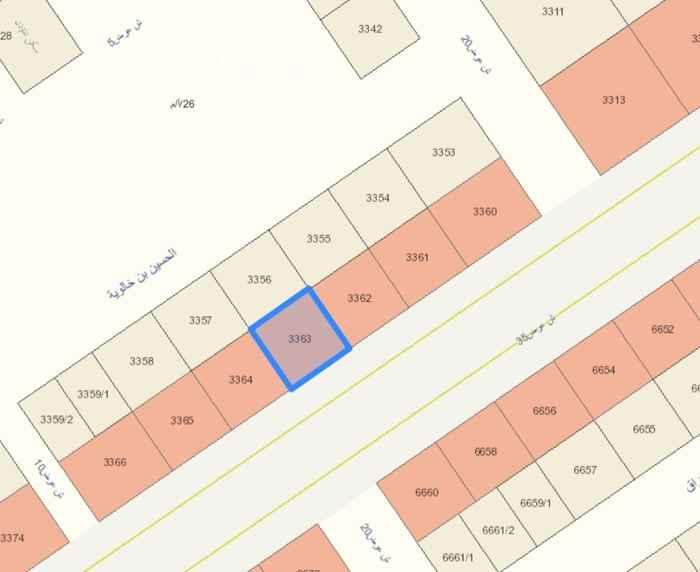 أرض للبيع في شارع عبيدالله الثقفي ، الرياض