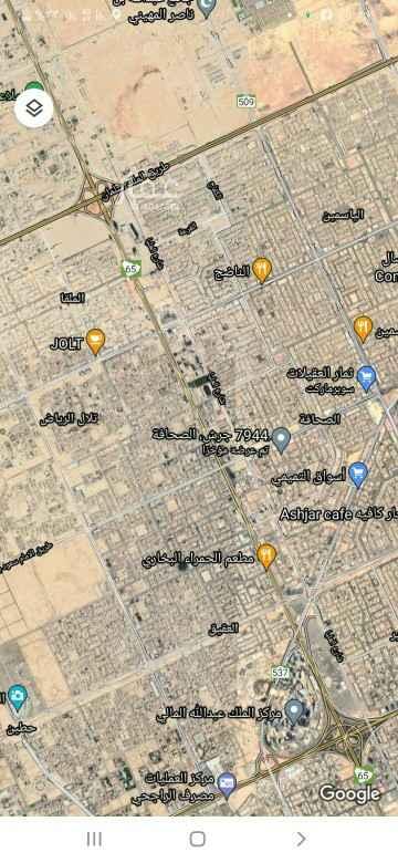 أرض للبيع في شارع جرش ، حي الصحافة ، الرياض ، الرياض