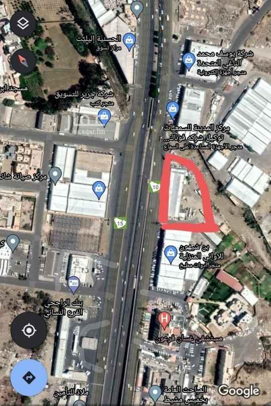 أرض للبيع في طريق الملك فهد ، خميس مشيط ، خميس مشيط