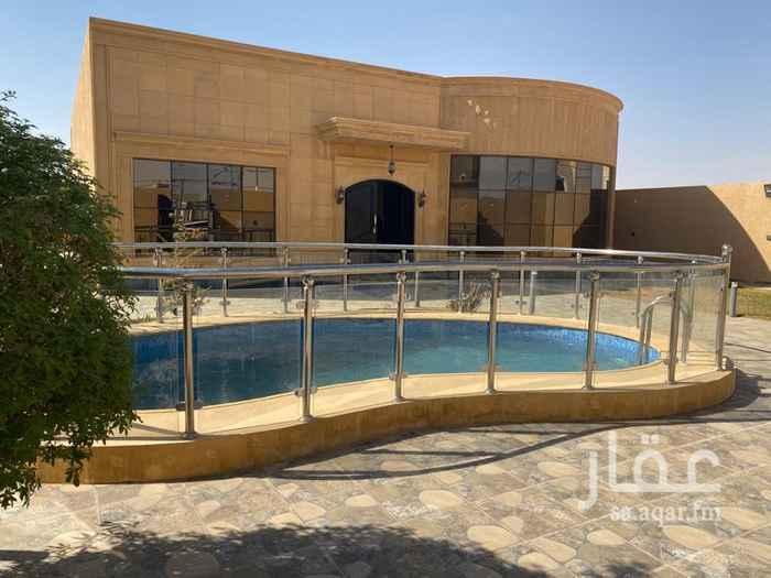استراحة للبيع في شارع الأمير سلطان بن سلمان ، حي المستقبل ، المجمعة ، المجمعة